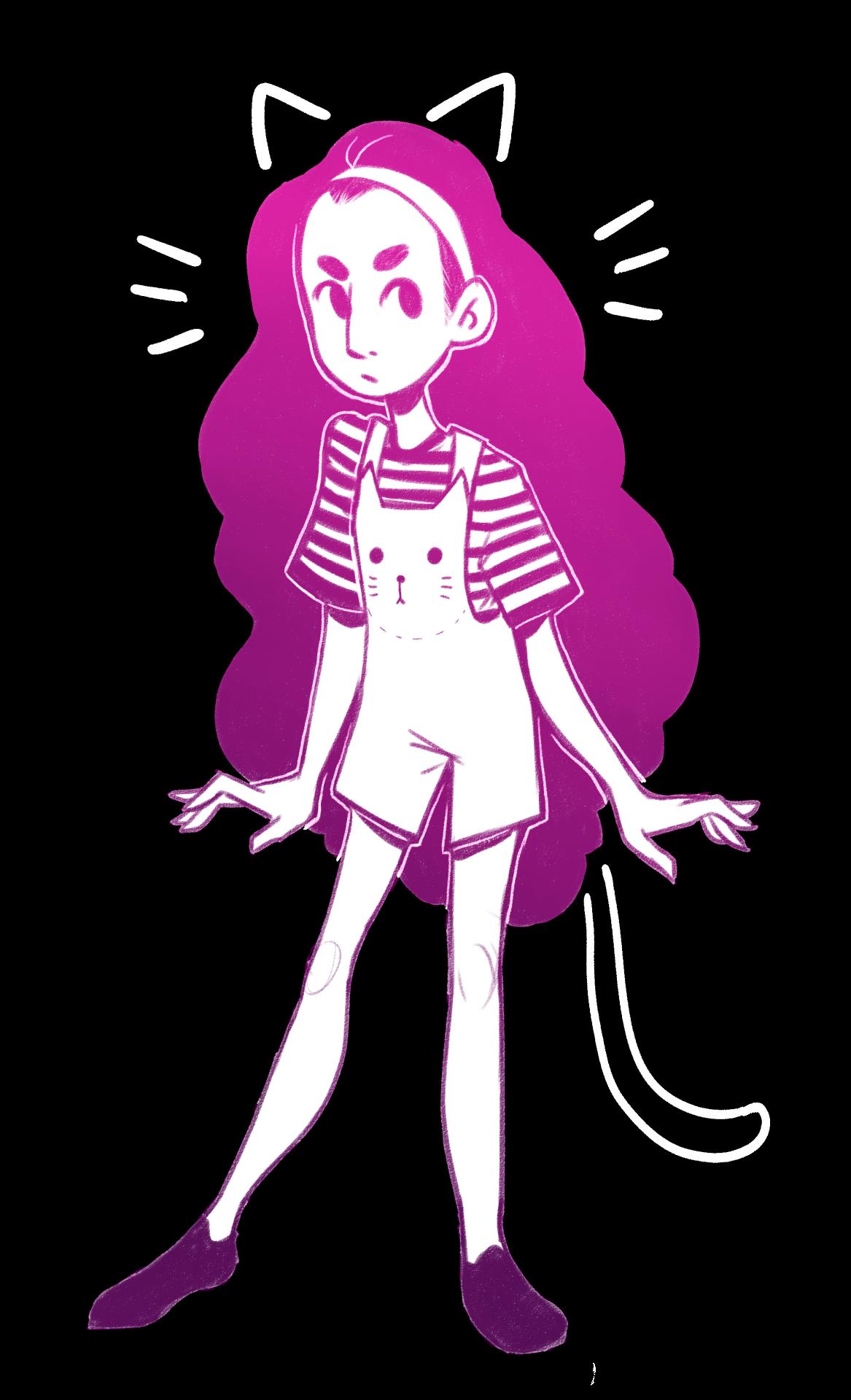 she kinda stands like pearl sometimes…