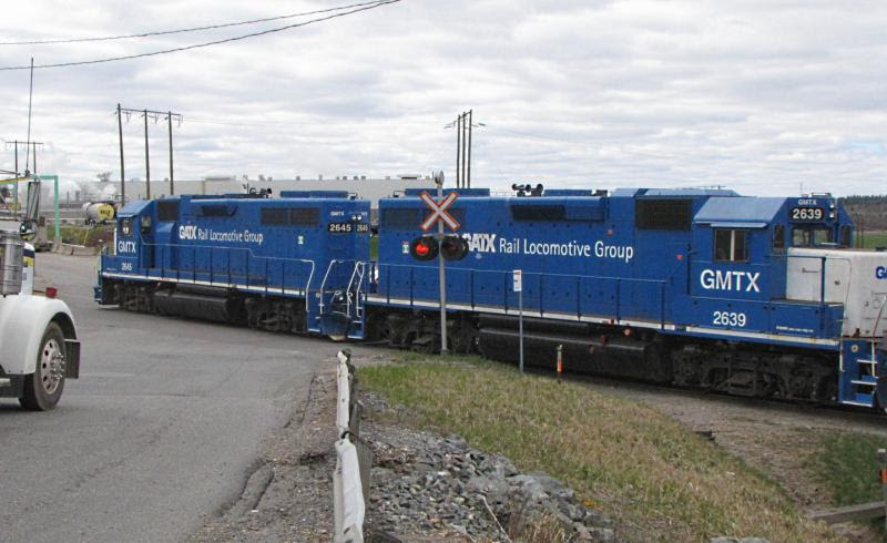 GMTX 2639 in Saint John. Photo by Byron Thomas