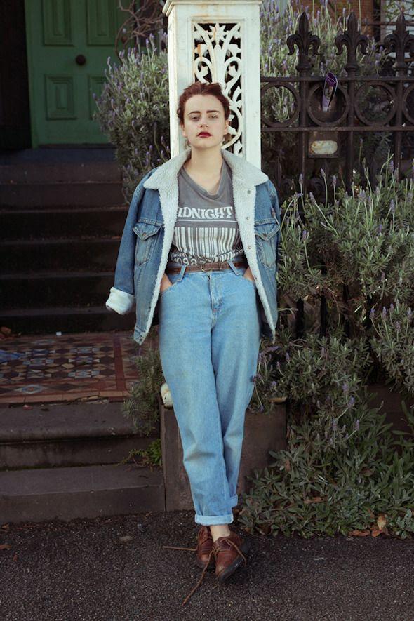 DOrsonya Ivey, art director Wunce mag - Look At Me - MAG - stream Wardrobe
