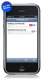 Colloquy for iPhone and iPod touch