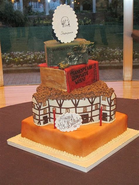 Shakespeare's Cake   Retirement Party   Pinterest   Cakes