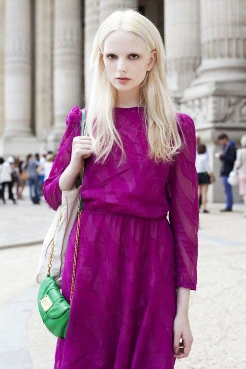 Radiant Orchid fashion #radiantorchidstyle