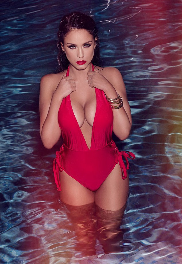 Red hot:Vicky Pattison has been announced as the new face of Ann Summers