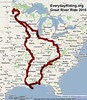 Great River Ride 2010 Route Map