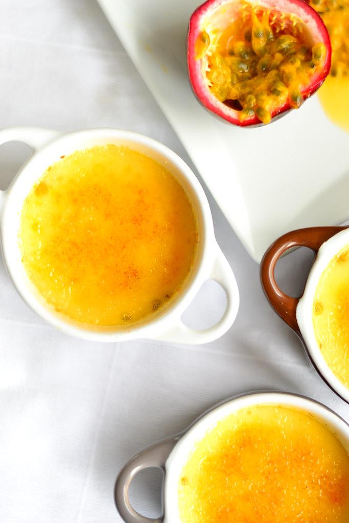 créme brulée with passionfruit 8