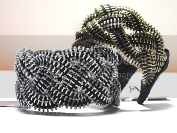 Zipper Braid Bracelet