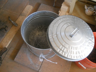 Collected Cook Stove Ashes