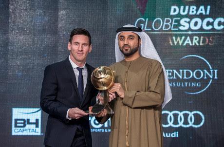 Messi dan Barcelona Terbaik di Dunia Versi Globe Soccer Awards