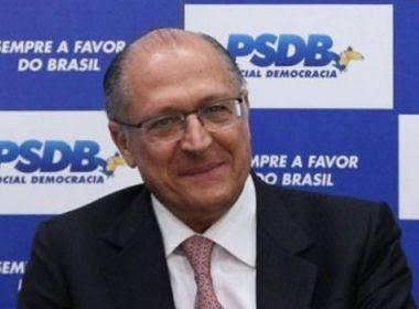 Geraldo Alckmin é eleito presidente nacional do PSDB por 470 votos