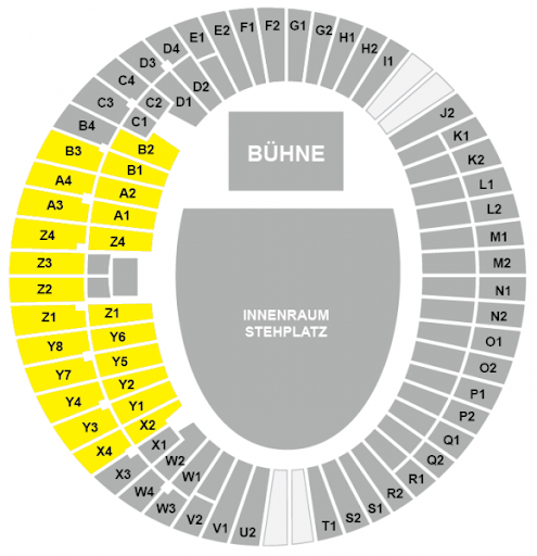 Sitzplan Olympiastadion München