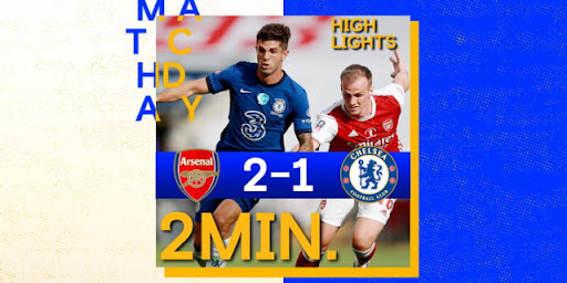 Avatar of Arsenal 2-1 Chelsea (N) | FA Cup final highlights