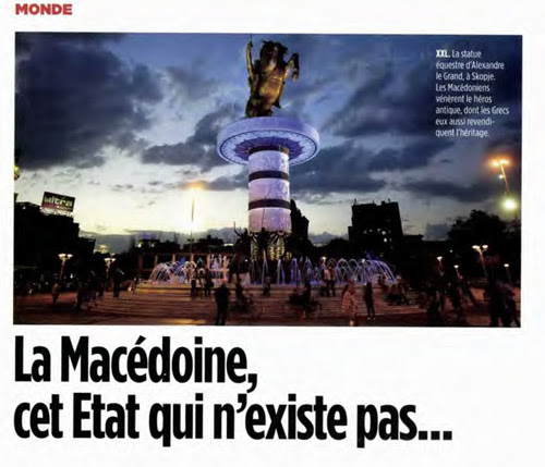 lepointmac Γαλλικό Περιοδικό Le Point: Σκόπια, μια χώρα που δεν υπάρχει