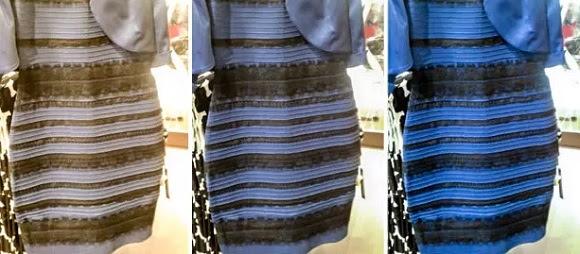 A alteração do balanço de branco da foto original (centro) através do Photoshop permite chegar aos dois resultados