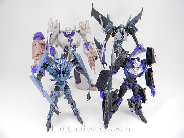 Transformers Megatron Voyager - Prime RID - modo robot vs otros Prime