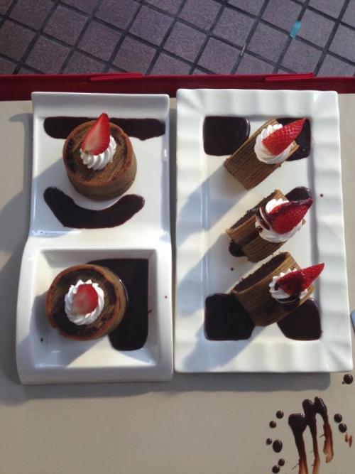 Kek Coklat Berlapis