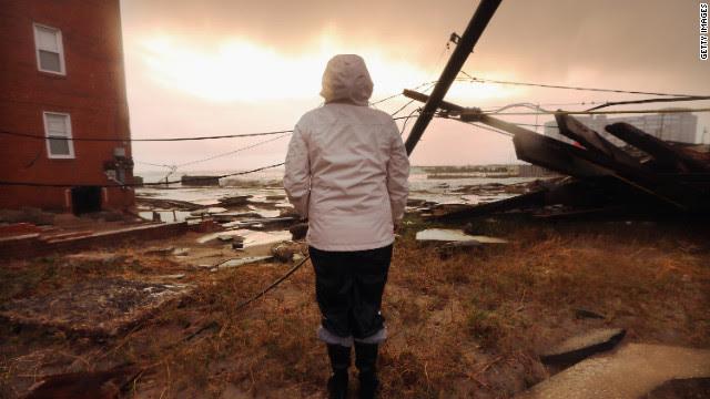 El impacto de Sandy estado por estado