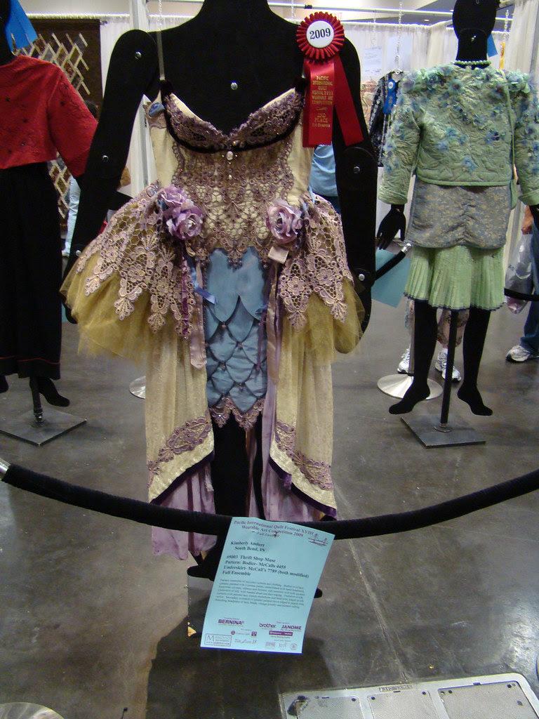 DSC02771 Wearable Art 5003 Thrift Shop Muse by Kimberly Andert
