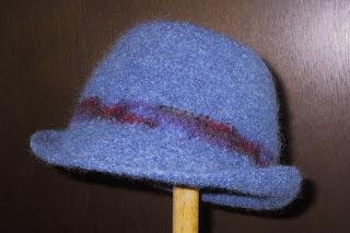 Suzies Stuff  FELTED ROLL BRIM HAT (C) eeb615e1240