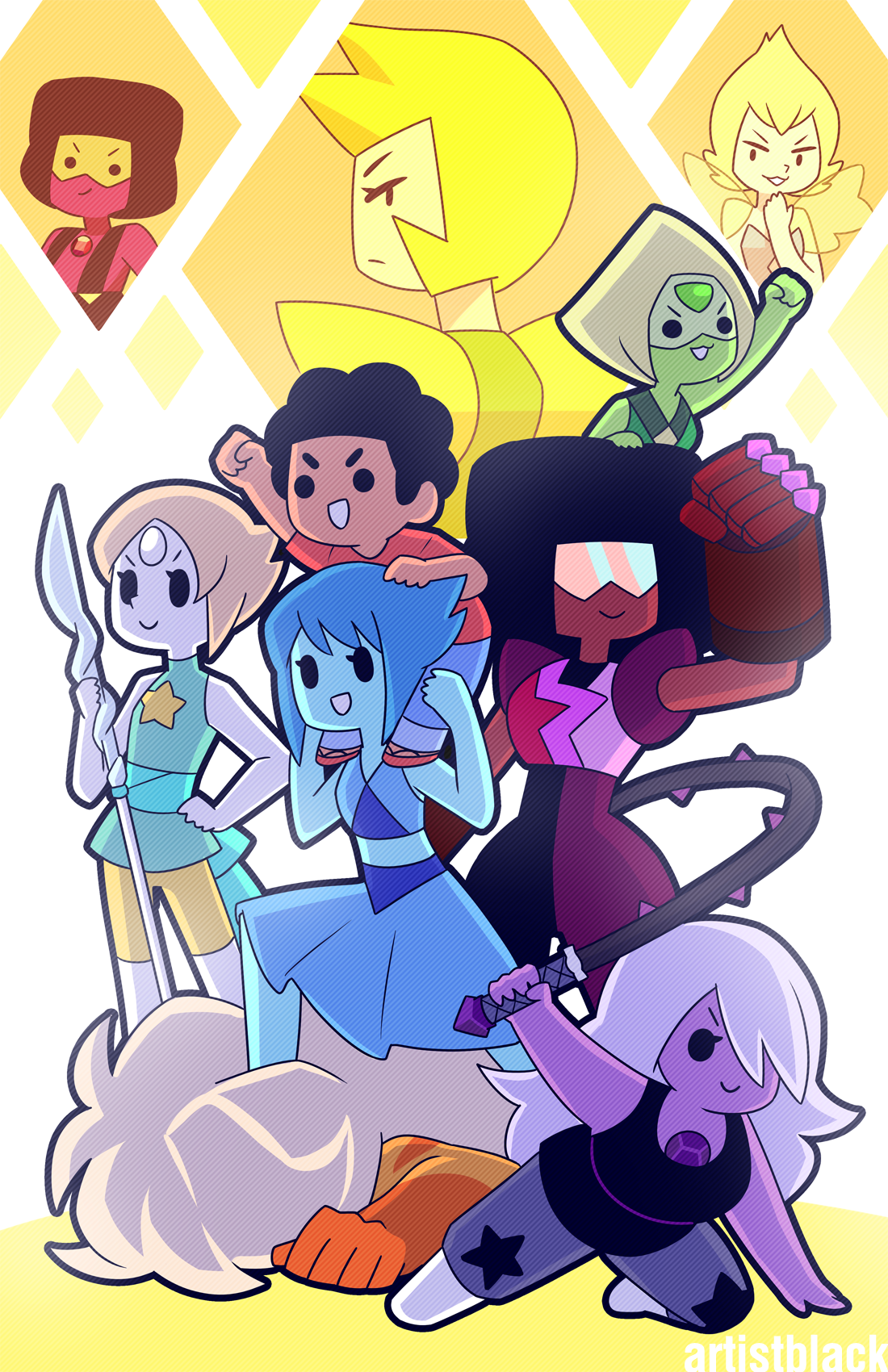 sequel to [this] (open in new tab because tumblrrrrr) also, a print at AX table K2!