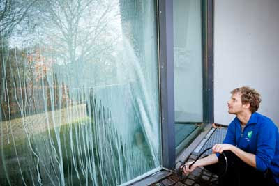 Fensterscheiben Reinigen