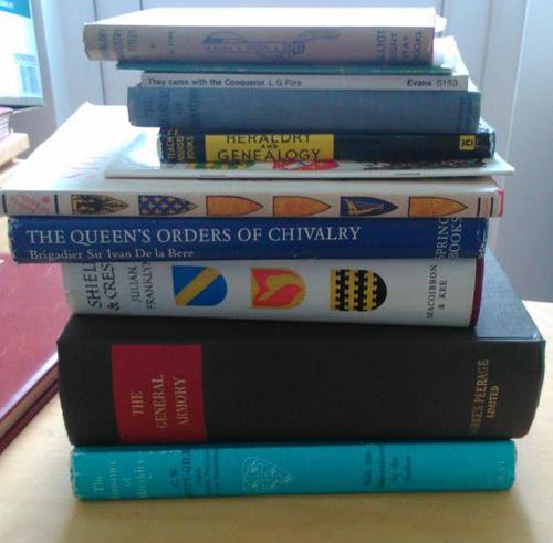 Heraldry books