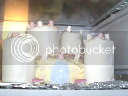 Bellas 5th Birthday Party Princess Castle Cake