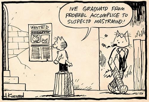 Laugh-Out-Loud Cats #2281 by Ape Lad