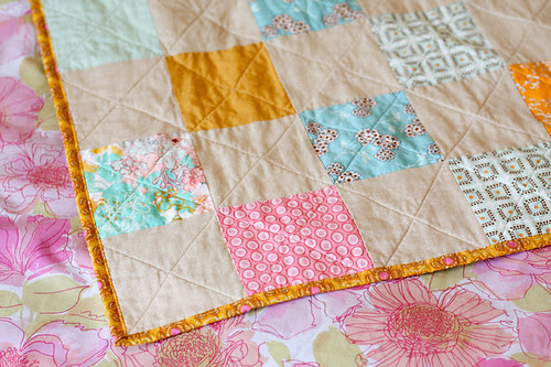 Patchwork Picnic Quilt Tutorial - In Color Order