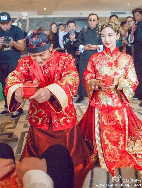 Angelababy's Wedding of the Year // Angelababy in a