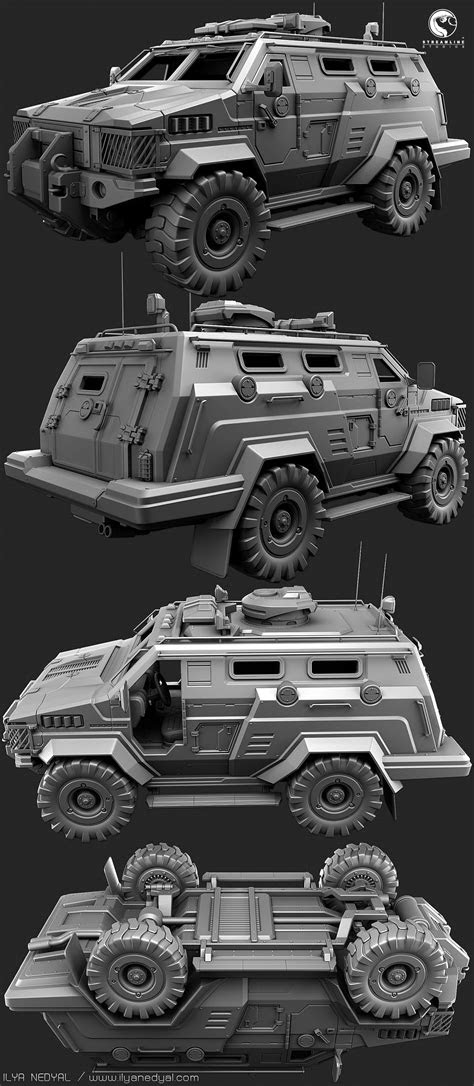 Pin by SteelRose on Game Assets | 3ds max design, Jeep