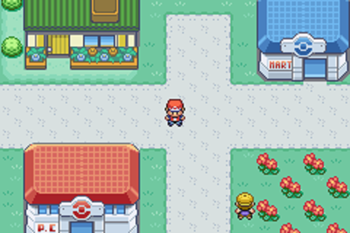 Pokemon Fire Red and Leaf Green JustRPG
