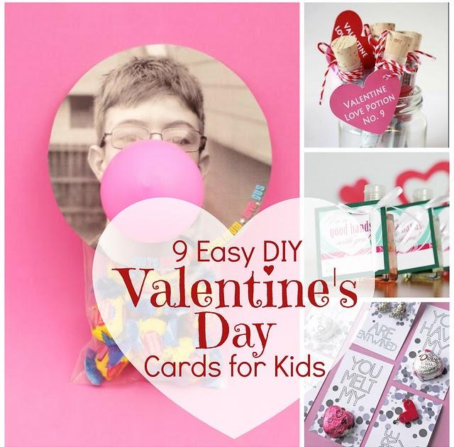 Jonahbonah: 9 Easy DIY Valentine's Day Cards For Kids