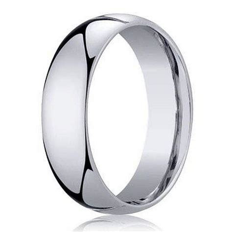 Benchmark Men's Wedding Band in 950 Platinum, Classic