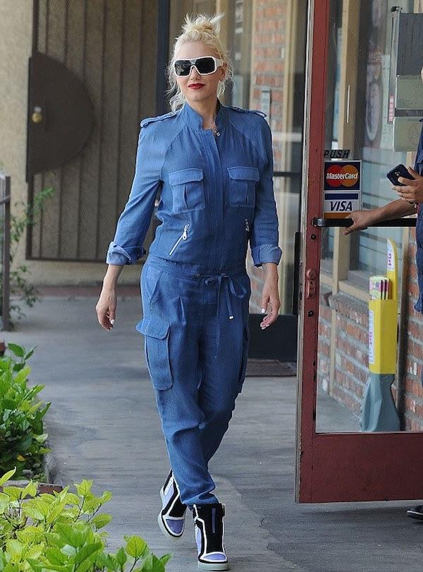 2 Gwen Stefani's L.A.M.B Freeda Wedge Sneakers