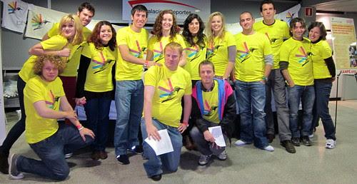 Madrid volunteer crew!