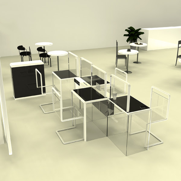 Beautiful Furniture Design For Cyber Cafe Minimalist Home Design Ideas