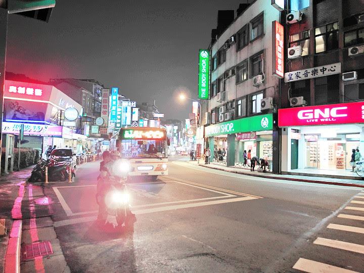 Shilin Night Market roads