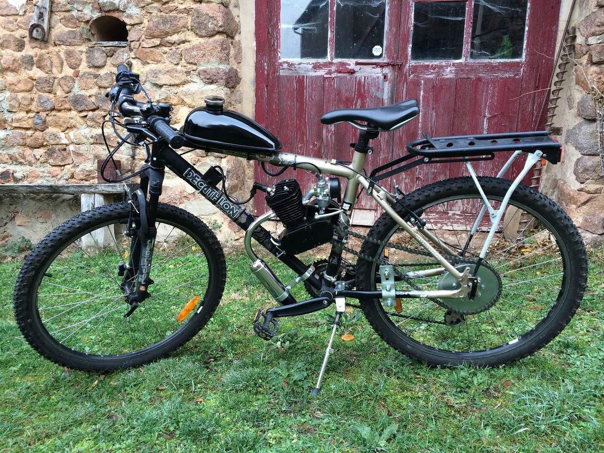 Vélo Vtt Moteur Thermique 80cc Trace Ta Route Et Pourquoi