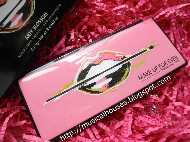 MUFE Arty Blossom Palette Casing