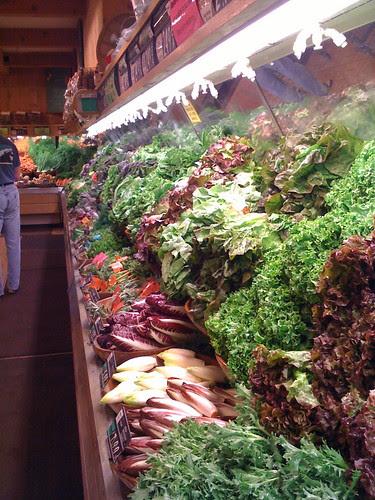 Produce at Lazy Acres Market