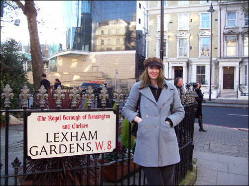 Me, London W8, December 7, 2008