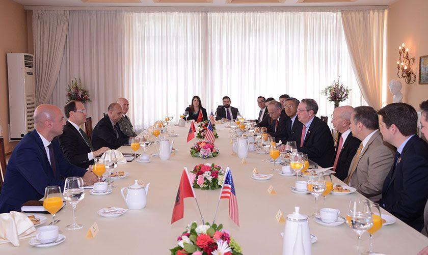 Image result for kongresmenet amerikane ne shqiperi