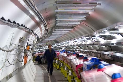 Las instalaciones del CERN donde se ha llevado a cabo el experimento. | AP.