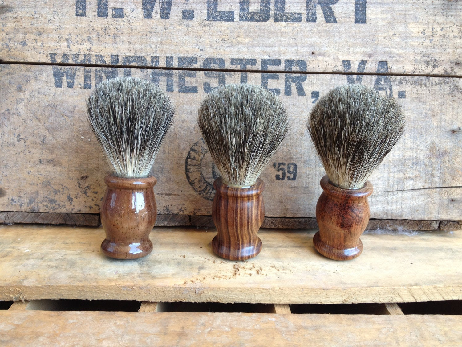 Handmade Badger Hair Shave Brush - BadgerLather