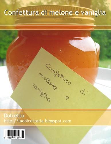 Confettura di melone e vaniglia