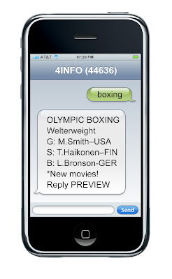 2008 Summer Olympics Mobile Alerts