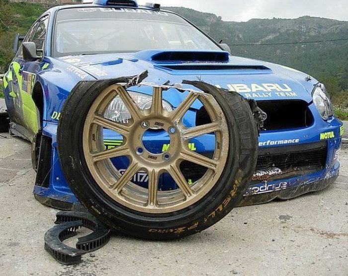 Subaru Rally Car Tire Oops Subaruofhuntvalley What Lies Inside Pinterest Subaru Sad Day