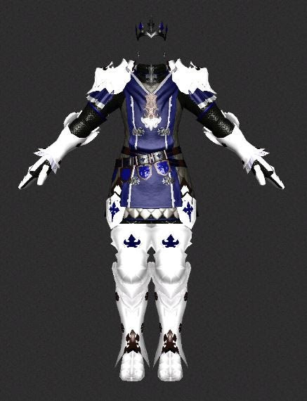 GW2 Paladin from FFXIV (suggestions?) : GuildWarsDyeJob
