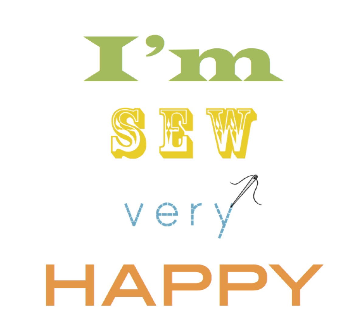Im Sew Very Happy Craft