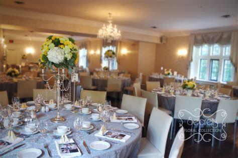 A Modern Yellow and Silver Wedding Decoration   Toronto